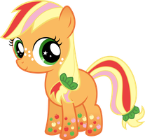 Zap Apple Rainbow Power by Serenawyr