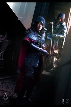 ACsyndicate - Jacob and Evie Frye cosplay shoot by RBF-productions-NL
