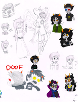 Homestuck Dump by ProfessorDeLune