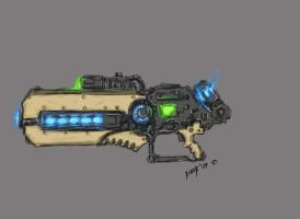 Plasma Rifle by DarkLostSoul86