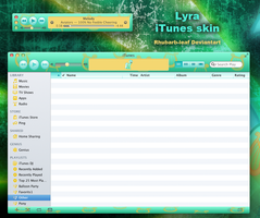 Lyra itunes skin by rhubarb-leaf