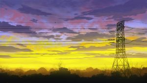 Colorful Pylon by mclelun