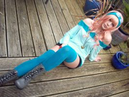 Sheryl Nome- Macross Frontier: Star Date by JustPeachyCosplay