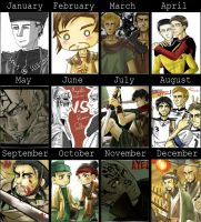 my works in 2010 by skylord1015