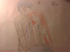 JErza by FairyTailForever123
