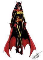 Batwoman-old school by Joe-Singleton
