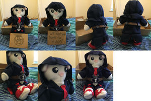 Assassins's Creed / Doctor Who Custom Made Plushie by PatrickJr