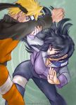 NarutoHinata - fight bis by askerian