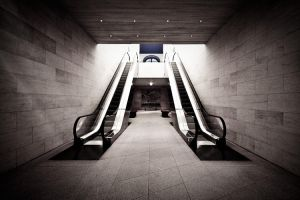 escalator by herbstkind
