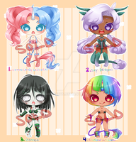 Cutie Lingerie Adopts: SOLD OUT by RaineSeryn