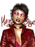Mary J. Blige by angelkitty