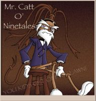 Crazy Old Kook: Mr. O' Ninetales the Whip by KD476