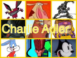 Charlie Adler Characters by PhantomEvil