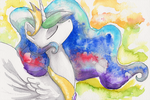 Celestia Watercolour by Wild-Hound