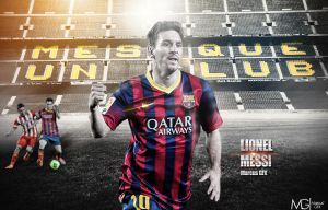 Lionel Messi by Marcus-GFX