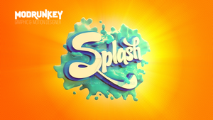 3D Logo Splash by MoDrunkey