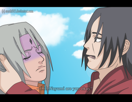 Itachi and Nayumi Nayumi are you ok by Sarah927