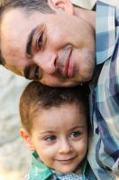 boy and father by Ahmedk218