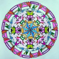 circle card 60 by Lou-in-Canada