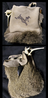 Deer Pouch-Purse? WIP by BasiliskZero