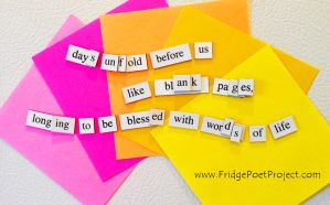 The Daily Magnet #207 by FridgePoetProject