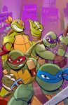 TMNT Animated Variant Cover by Bloodzilla-Billy
