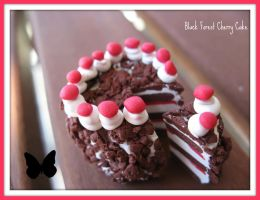Black Forest Cherry Cake by cupcakecutiefriends