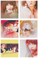Zooey Icons by stareAtyou77