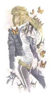 Michael Jackson by GrisGrimly