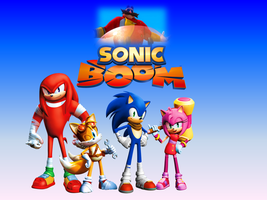 Sonic Boom 2014 Wallpaper by 9029561