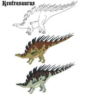 Die-nosaurs for Dethklok 2 by ryn0saur