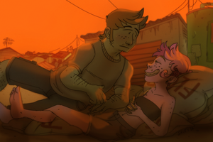 rooftop by Skittycat