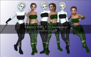 Fantasy Pack 1 by joannastar-stock