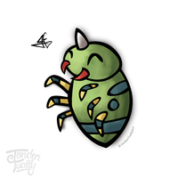 #167 Spinarak by JordenTually