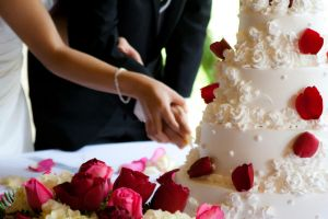 Wedding Cake Cut by apaxngh