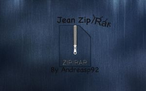 Jean Zip-Rar icon by andreasp92
