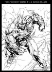 SAVAGE DRAGON ONE MO GAIN hehehe by caananwhite