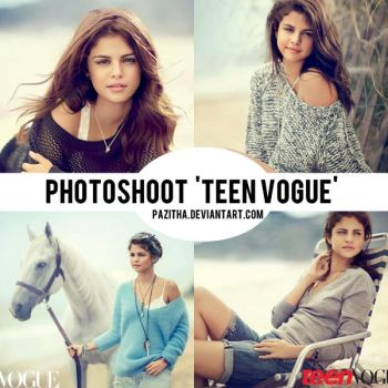 Photoshoot 'Teen Vogue' by pazitha
