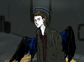 Calm down, archangel. by ThetarielWhitesinger