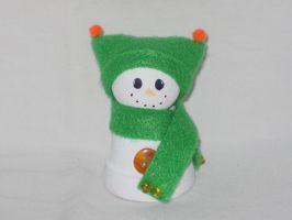 Snowman Bell by IHAVE77ISSUES
