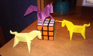 Origami - Magic Horses by Sszymon14