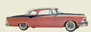 age of chrome and fins : 1955 Dodge by Peterhoff3