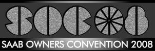 Saab Owners Convention logo 08 by Saablym