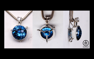 London Blue Topaz and Sapphire by manwithashadow