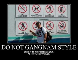 Motivation - Do not Gangnam Style by Songue