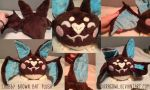 Chubby Brown Bat Plush by Dragowl