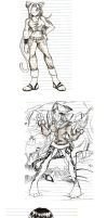 Sketches colletion 1 by Cyborg-Steve