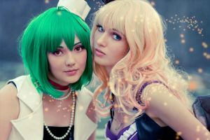 Sheryl Nome and Ranka Lee by bellatrixaiden