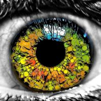 Her eye abstract by Deathsdoor-inc