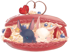 Sweet bunnies v.day by yaocchi